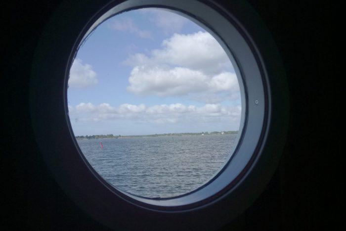 Utsikt från husbåten